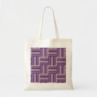 Mauve stripes weave pattern