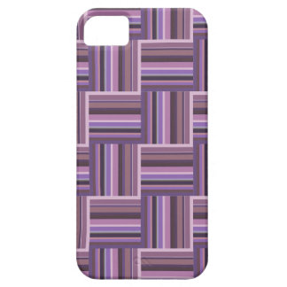 Mauve stripes weave pattern iPhone 5 covers