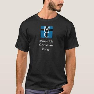 Maverick Christian Blog (Black) T-Shirt