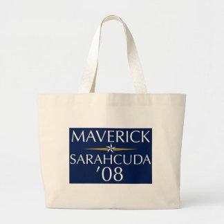 Maverick/Sarahcuda '08 Tote Canvas Bag