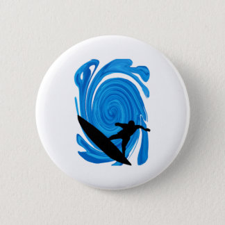 Mavericks Rising 2 Inch Round Button