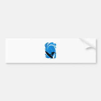 Mavericks Rising Bumper Sticker
