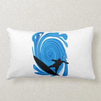 Mavericks Rising Lumbar Pillow