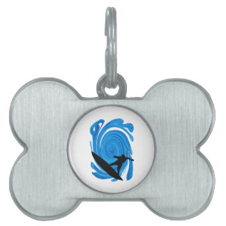 Mavericks Rising Pet ID Tags