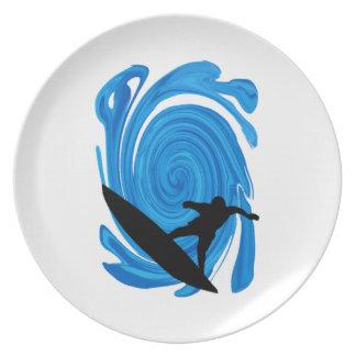 Mavericks Rising Plate
