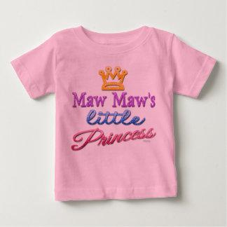 Maw Maw's Little Princess Baby Toddler T-Shirt