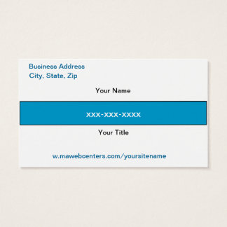 Mawebcenter Distributor Sales Business card