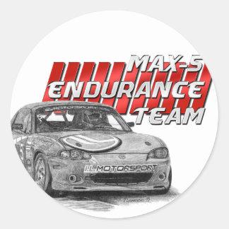 MAX-5 Enduro Team Stickers