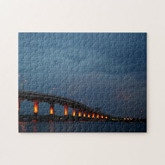 Max Brewer Bridge, Titusville, Florida Jigsaw Puzzle