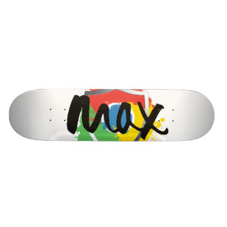 Max Chrome | Skateboard