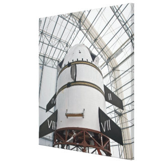 Max Launch Abort System vehicle Canvas Print