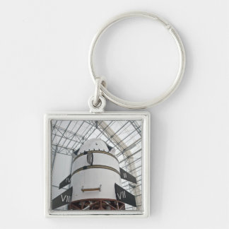Max Launch Abort System vehicle Silver-Colored Square Keychain
