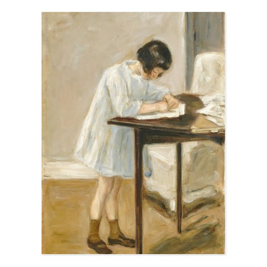 Max Liebermann- The Artist's Granddaughter Postcard