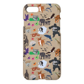 Max Loves All Animals iPhone 7 Glossy Case