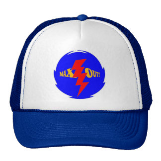 MAX OUT CAP TRUCKER HAT