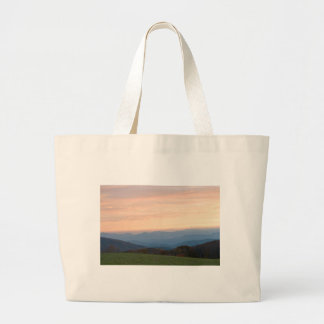 max patch sunrise large tote bag