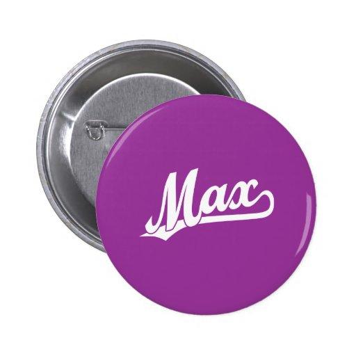 Max Script Logo in white Buttons