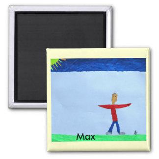 Max Square Magnet