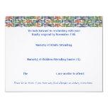 Max Torah RSVP4 4.25x5.5 Paper Invitation Card