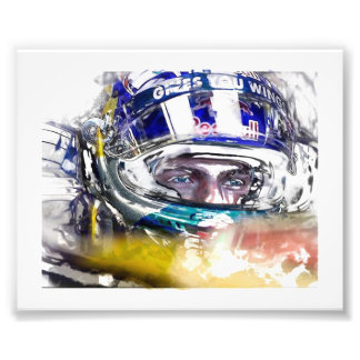 Max Verstappen First Race in Team Torro Rosso. Photo Print