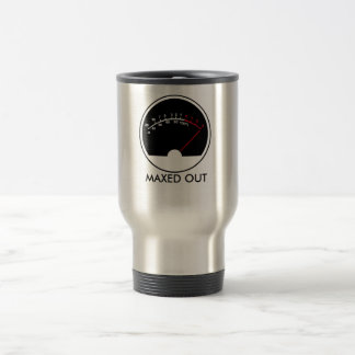 MAXED OUT Audio Meter Travel Mug
