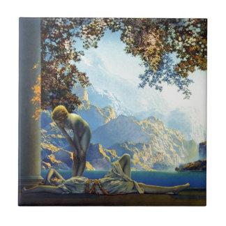 Maxfield Parrish Daybreak Tile
