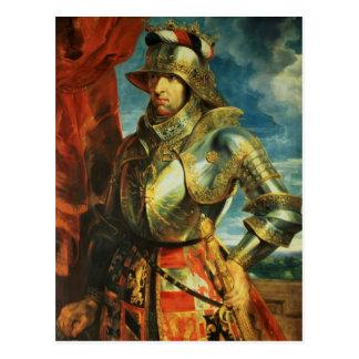 Maximilian I , 1518 Postcard