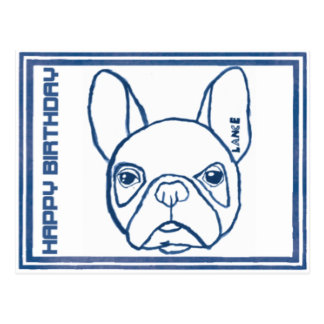 Maximum Blantyre French bulldog Postcard