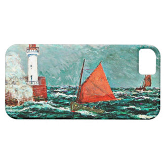 Maxine Maufra art: Back to Fishing Boats iPhone 5 Cover