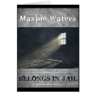 Maxine Waters Greeting Card