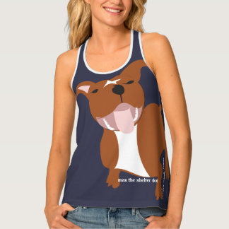 Max's Big and Bold Women's All-Over Print Tank Top