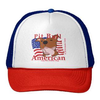 Max's Pit Bull American Hat