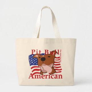 Max's Pit Bull American Tote