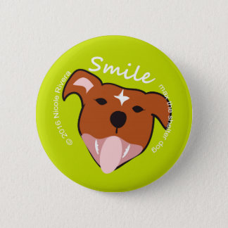 "Max's Smile 2 1/4"" Button"