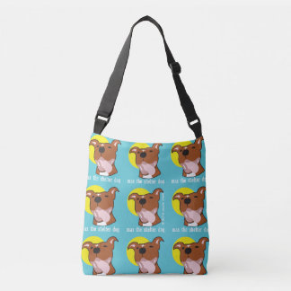 Max's Tongue Out All Over Sunshine Crossbody Bag