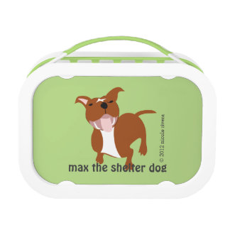 Max's Yubo Lunchbox, Green Lunchbox