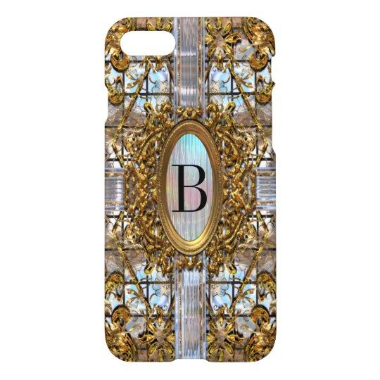 Maxter Elegant Monogram   7 iPhone 7 Case