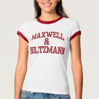 Maxwell & Boltzmann Women T-shirts