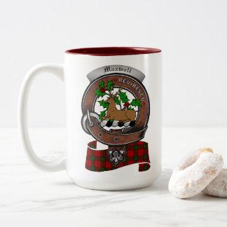 Maxwell Clan Badge Two Tone 15oz Mug
