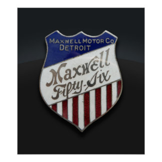 Maxwell Fifty-Six Poster or Print
