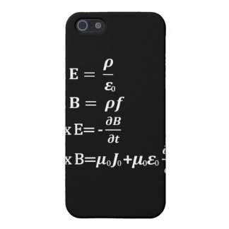 maxwell physics equation iPhone 5/5S cover