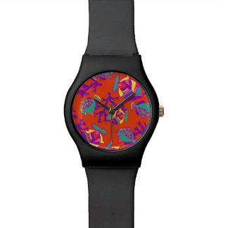 May28th watch with tropical fish design