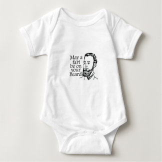 May a Fart be on your Beard Baby Bodysuit