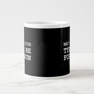 May All Of Your Typos Be Forgiven Large Coffee Mug