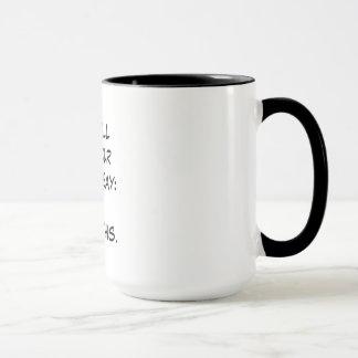May all of your vibes say: I got this Mug