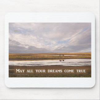 May all your dreams come true mouse pad