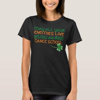 may all your enemies irishfunny t-shirt design
