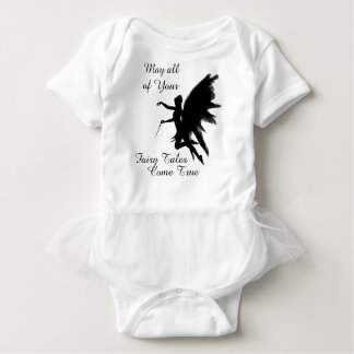 May All Your Fairy Tales Come True Baby Tutu Baby Bodysuit