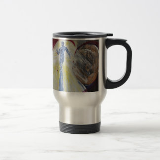 May Christ Dwell In Your Heart Travel Mug