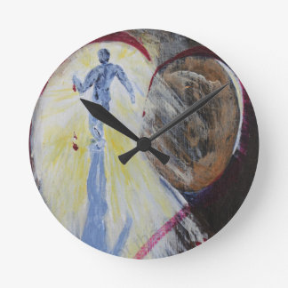 May Christ Dwell In Your Heart Wallclock